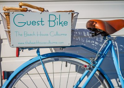 The Beach House Culburra Pet Friendly Guest Bike